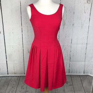 Tahari Fuchsia Fit and Flare Dress NWOT